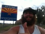In just 178 days a man walks across whole America