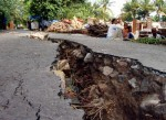 Two large earthquakes hit the southern coast of California and Mexico