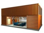 Shipping containers to be used as houses for living