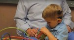 New implant helps 3-year-old boy hear his dad's voice for the first time