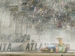 Kyle Busch wins in Atlanta, clinches Chase slot