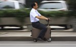 Suitcases could be the inventive Electric Scooter; have you ever imagined?
