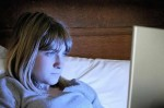 Doctors: Screen time affects teens' sleep.