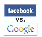 Web ad battle: Facebook vs. Google