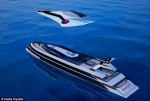 Yacht Transforms Into a Jet Plane When Needed