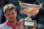 Wawrinka Sew Up a Dazzling Blaze to Win the French Open Title.