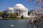 Jefferson Memorial and Tidal Basin in Washington