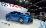 Toyota's hydrogen car obtains a slight assist from Doc Brown and Marty Mc Fly