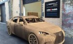 Lexus creates travelable IS out of cardboard