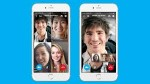 Skype carries grouping video chats to phones, and you can ask 24 of your friends