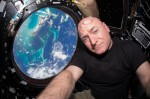 Scott Kelly's journey to space