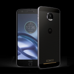 moto z DROID, unflawed smartphone, 64 GB storage with magnetic Moto Mods.