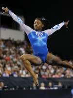Simone Biles is on her way to win all-around gold in Rio Olympics 2016