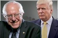 Why do Donald Trump has to say only good things about Putin? Says, Bernie Sanders.