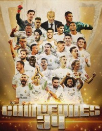 34th Champions Of La Liga: Real Madrid